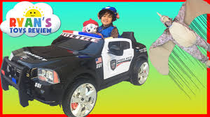 toddler motorized car police car power wheels ride on for kids paw patrol chase save