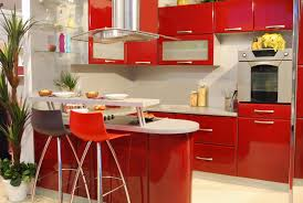 creative kitchen design ideas baytownkitchen with red chairs and