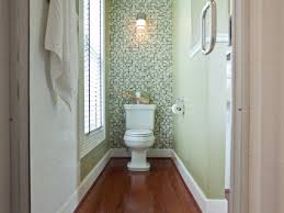 accent wall in bathroom home decorating