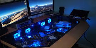 Pc Gaming Desk Gaming Computer Desk 13 Best Gaming Desks 2016 2017