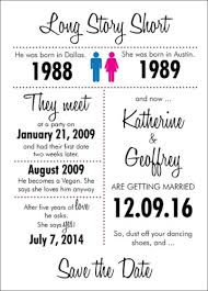custom save the dates unique story custom save the date postcard