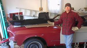 67 mustang fender 67 mustang restoration driver side fender update