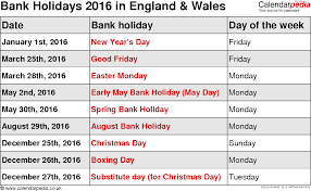 bank holidays 2016 in the uk 2017 and tree