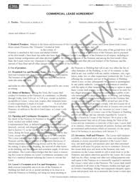 commercial lease agreement forms and templates fillable