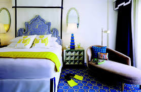 jonathan adler adds plenty of pop to eau palm beach hotel rooms