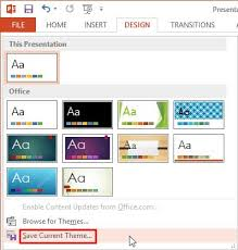 set standard 4 3 aspect ratio as default in powerpoint 2013 for