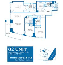 02 floor plan sky las vegas char luxury
