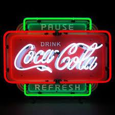 cola neon signs