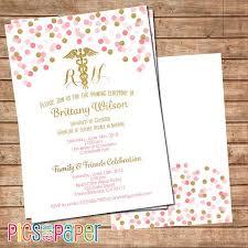 nursing school graduation invitations templates exquisite diy nursing school graduation invitations