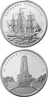 Ottoman Silver Coins silver 50 lira coins turkey coin series collector coin database