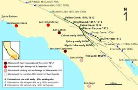 san francisco fault map san andreas may had help triggering a historic earthquake