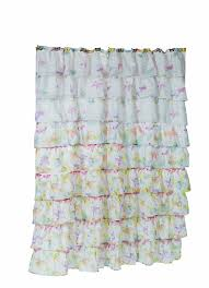 Shabby Chic Voile Curtains by Amazon Com Carnation Home Fashions