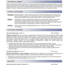 Networking Administrator Resume Download Novell Certified Network Engineer Sample Resume
