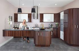 fitted kitchen ideas duleek gloss zebrano fitted kitchens ireland kitchen ideas