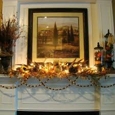 40 inspiring decorating ideas for the thanksgiving fireplace