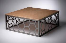 home design furnishings custom metal home furniture design of miller coffee table by