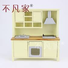 Dollhouse Kitchen Furniture by Online Get Cheap Dollhouse Kitchen Cabinets Aliexpress Com