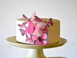 butterfly cake toppers wedding cake topper edible butterflies assorted set of 15 cake
