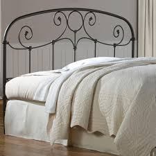 amazon com grafton metal headboard with scrollwork design and