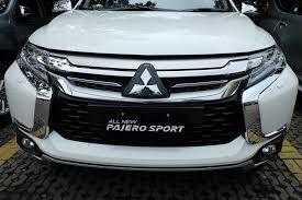 All New Pajero Sport List Kap Mobil Depan Molding Chrome februari 2016 mitsubishi surabaya