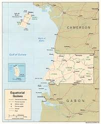 Guinea Africa Map by