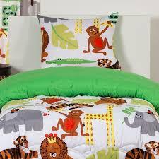 Bunk Bed Cap Safari Bedding Jungle Bed Cap Comforter Set