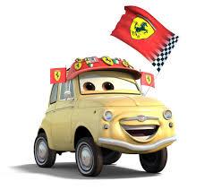 cars characters yellow luigi pixar wiki fandom powered by wikia