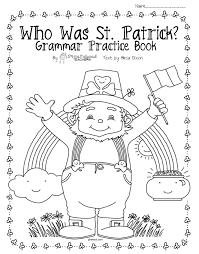 thanksgiving reading activities who was st patrick upper grade grammar u0026 comprehension packet
