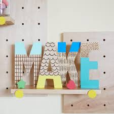 Decorating Wooden Letters 28 Ideas For Decorating Wooden Letters Painted Wood Letter