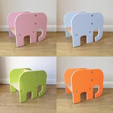 childrens table and stools handmade children s furniture fun animal shapes choice of colours