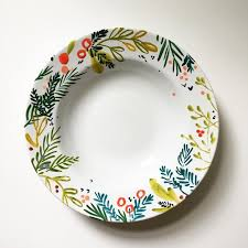 painted platter easy pot painting ideas zippered info
