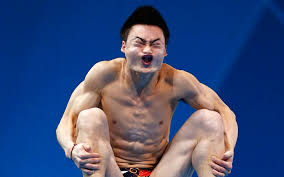 Chinese Meme Face - chinese diver funny face hilarious charlie chaplin in the lion s