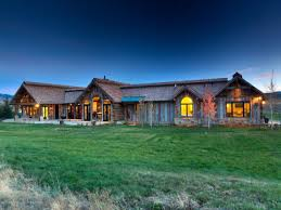 ranch homes rustic ranch homes plans metal roof