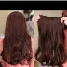 hair clip rambut asli hair extension hair clip 100 human hair samarinda home
