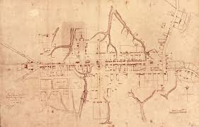 williamsburg map what is the frenchman s map history