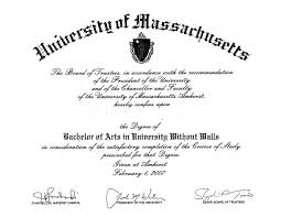How To Write Bachelor S Degree On Resume Frequently Asked Questions Umass Amherst University Without Walls