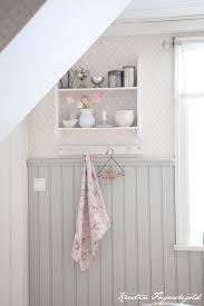 gray beadboard love it with the faint wallpaper could even