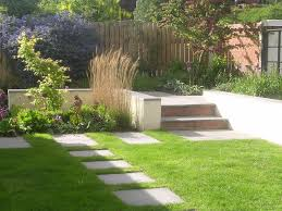 Small Sloped Garden Design Ideas Garden Layout Designs Small Large Courtyard Gardens