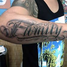 gorgeous black family forearms awesome