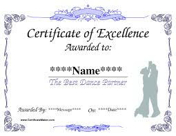 templates for award certificate printable free printable certificate templates for kids unique dance award