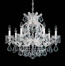 Maria Theresa 6 Light Crystal Chandelier Maria Theresa Crystal Chandelier Youtube Chandelier Light Maria