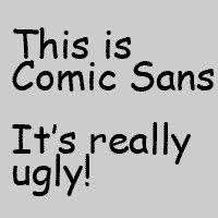 Comic Sans Meme - the font snob club free fonts comic sans fonts and typography