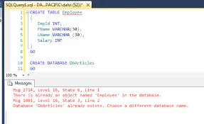 Create Table Oracle Sql Sql Server Check If Table Or Database Already Exists