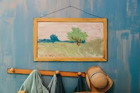 van gogh bedroom painting life sized replica of van gogh s the bedroom to rent on airbnb for