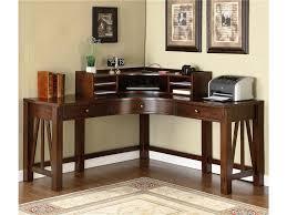 Corner Computer Desk Furniture Minimalist Wooden Corner Computer Desk For Small Space