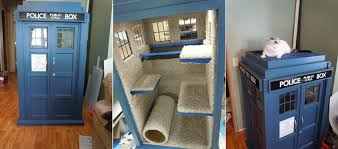 tardis cat playhouse diy icreatived this