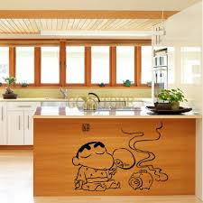 new waterproof crayon shin chan kitchen stickers decals new waterproof crayon shin chan kitchen stickers decals removable wholesale