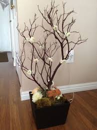manzanita tree branches manzanita centerpiece s without breaking the bank weddingbee