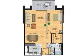2d Floor Plan by Diplomat Floor Plans Columbia Plaza Apartments