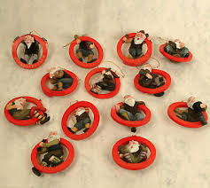 set of 13 yule lads ornament cosmic beanery